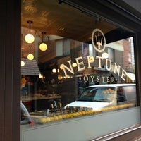 Photo taken at Neptune Oyster by Anawat C. on 10/4/2012