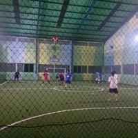 Photo taken at Lapangan Futsal BSC (Ringroad) by Kelly O. on 4/17/2015