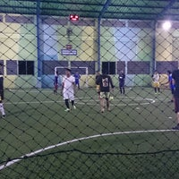 Photo taken at Lapangan Futsal BSC (Ringroad) by Kelly O. on 3/28/2014