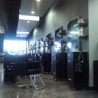 Photo taken at Glow Hair Salon and Spa by Rebecca S. on 9/29/2012