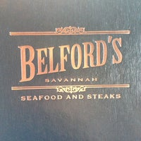 Photo taken at Belford's Savannah Seafood & Steaks by Christina M. on 3/27/2013