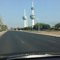 Photo taken at ابراج الكويت by Tota Q. on 11/19/2014