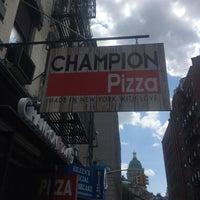 Photo taken at Champion Pizza Soho by Jonathan W. on 6/28/2017