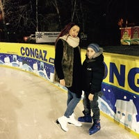 Photo taken at Patinoar by Alina N. on 1/11/2015