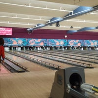 Photo taken at Bowl A Roll Lanes by Holly F. on 4/3/2014