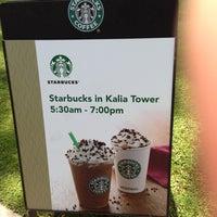 Foto tirada no(a) Starbucks por yoshitatsu k. em 3/20/2013
