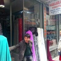 Photo taken at Karaaslan Tekstil by Tunay R. on 4/16/2014