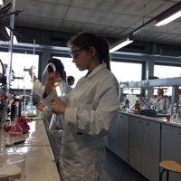 Photo taken at Labo Microbiologie by Dagmar B. on 3/13/2017