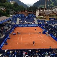 Das Foto wurde bei FIVB Gstaad Center Court von Anees Q. am 7/24/2014 aufgenommen