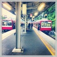 Photo taken at Uraga Station (KK64) by Tora S. on 5/10/2013