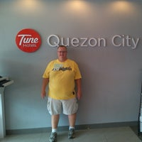 Photo taken at Tune Hotel Quezon City by Lawrence D. on 5/30/2014