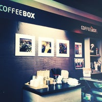 Photo taken at CoffeeBox by Лина Ч. on 4/20/2012