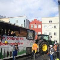 Photo taken at Stadtplatz by H M. on 2/9/2013