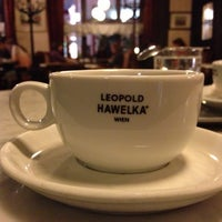 Photo taken at Café Hawelka by Nikita on 5/3/2013