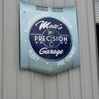 Photo taken at Matt's Precision Garage by Aundrea L. on 10/16/2013