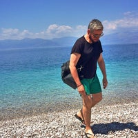 Photo taken at Παραλία Διακοπτού by Petros P. on 5/30/2015