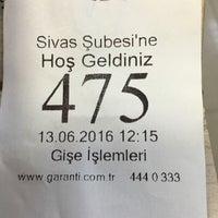 Photo taken at Garanti Bankası by Ziya K. on 6/13/2016