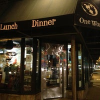 Photo taken at One World Eats & Drinks by Justin B. on 9/11/2013