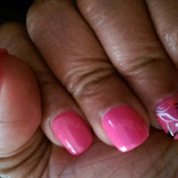 Photo taken at Queen Nails by Charlotte E. on 5/13/2015