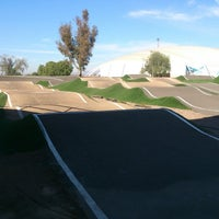 Photo taken at Pista Bicicross Bicentenario by Rafa G. on 1/26/2014