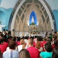 Photo taken at Igreja N. S. de Fátima by Joana Darc S. on 12/7/2013