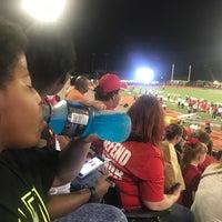 Photo taken at Leo Buckley Stadium by Connie W. on 10/14/2017