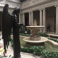Photo taken at The Frick Garden Court by Mac P. on 7/18/2016