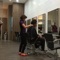 Photo taken at Bench FIX Salon by Eric O. on 8/11/2014