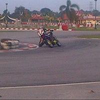 Photo taken at Inderapura Gokart Circuit by Fendy Z. on 10/29/2013