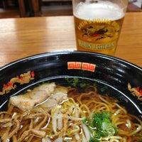 Photo taken at Yataimura Beer Garden by @MiwaOgletree on 2/19/2013