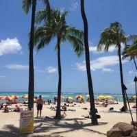 Photo taken at Waikīkī Beach by @MiwaOgletree on 5/16/2013