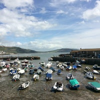 Photo taken at Lyme Regis by Terence O. on 8/3/2016