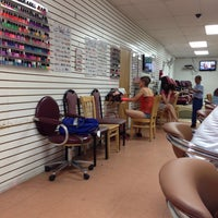 Photo taken at Pearl Nails Club Inc. by Sean M. on 9/2/2014