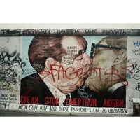 Photo taken at East Side Gallery by Ilya M. on 10/8/2013
