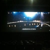 Photo taken at Cinemas NOS Braga Parque by Bruno L. on 5/19/2013