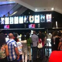Photo taken at Cinemas NOS Braga Parque by Bruno L. on 8/19/2013