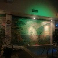 Photo taken at Brooklyn Banya Russian Bathouse and Spa by Marina K. on 11/19/2012
