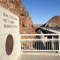 Photo taken at Mike O'Callaghan-Pat Tillman Memorial Bridge by Bryan H. on 3/22/2013