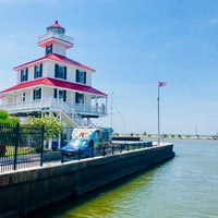 Photo taken at New Canal Lighthouse by Bryan H. on 7/23/2018