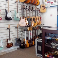 Photo taken at Jeff Guitar Shop by Andrew Martinelle M. on 12/19/2013