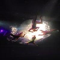 Photo taken at Daryl Roth Theatre (Fuerza Bruta Wayra) by Vaquita M. on 2/2/2013