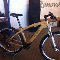 Photo taken at Renovo Hardwood Bicycles by Sindi S. on 7/23/2013