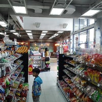 Photo taken at PTT Jiffy Asia Km.63 by JieBoJai J. on 2/15/2014