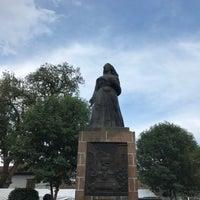 Photo taken at Plaza Gertrudis Bocanegra by Tulio O. on 5/6/2018