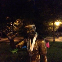Photo taken at John Breaux Statue by DV G. on 8/3/2013