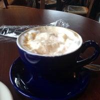Photo taken at la Madeleine French Bakery & Café Mandeville by Roberta M. on 3/15/2014