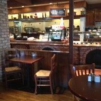 Photo taken at la Madeleine French Bakery & Café Mandeville by Roberta M. on 2/22/2014