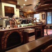 Photo taken at la Madeleine French Bakery & Café Mandeville by Roberta M. on 11/23/2013