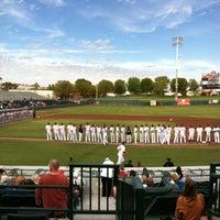 Photo taken at Scottsdale Stadium by Doug S. on 11/17/2012