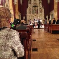 Photo taken at St. Boniface Catholic Church by Theresa M. on 11/30/2012